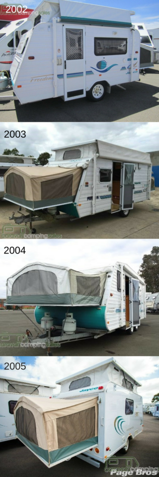 tips for buying a second hand jayco expanda