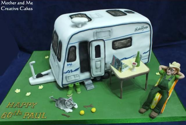 25 of Earth's Best Caravan & Campervan Cakes :: Camplify