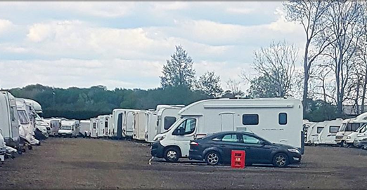 Gatewick Caravan Storage in West Sussex1