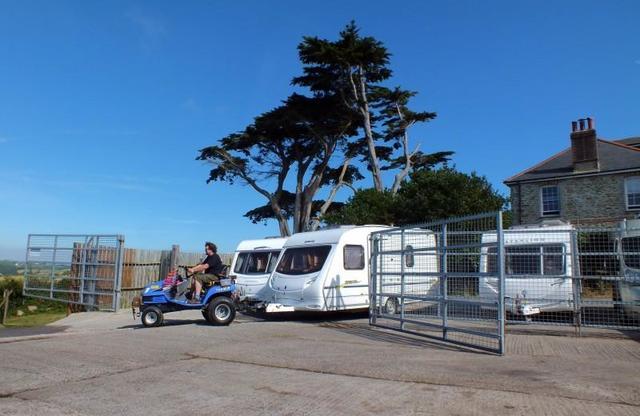 Piran Caravan Storage in Cornwall
