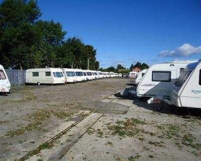 B W Caravan Storage in Lancashire