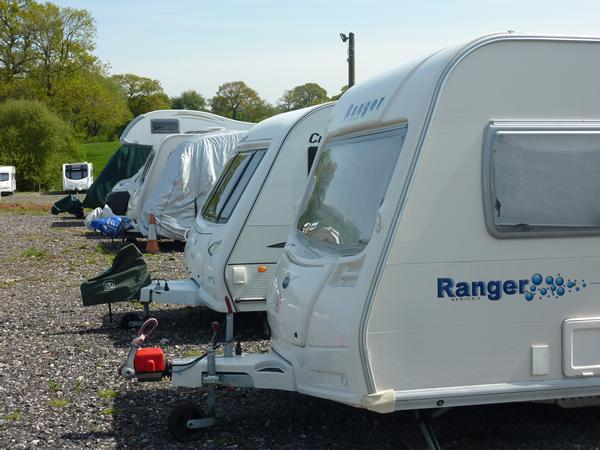 Longpools Caravan Storage in Shropshire