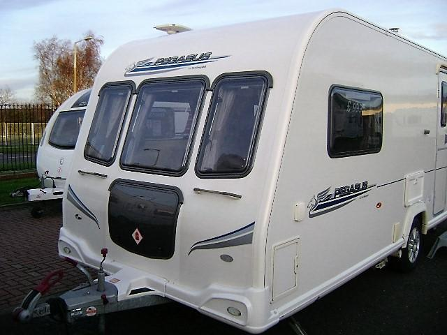 2 berth family caravan