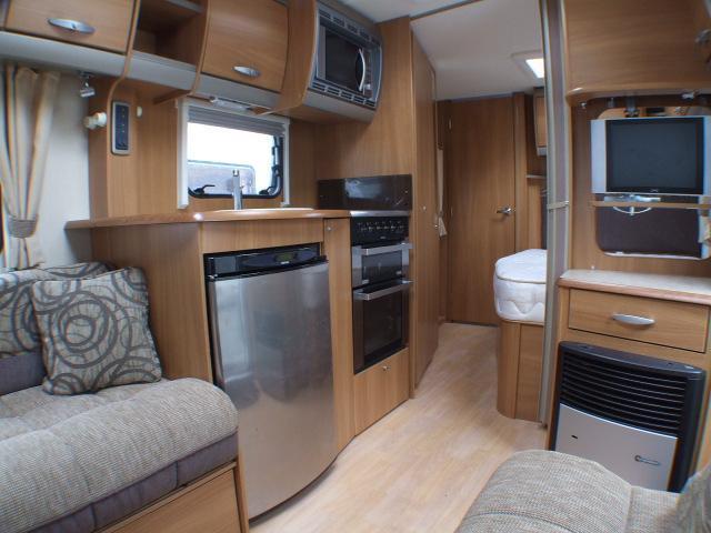 4 berth family caravan