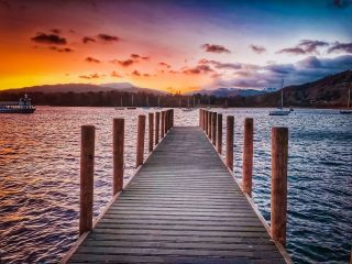 Lake Windermere Sunset