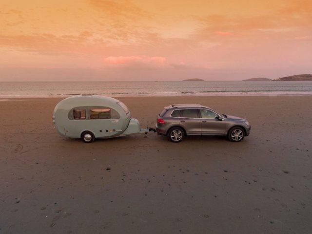 Barefoot Caravan sunset