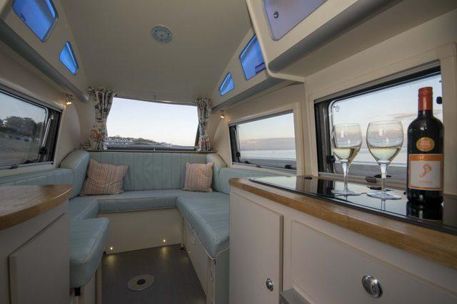 Barefoot Caravan Interior