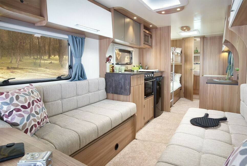 Family Caravan, Bunk beds for kids, awning & furniture included - Cover Image
