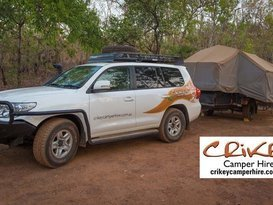 Complete Toyota 200 Series Landcruiser & Off Road Camper Trailer Package