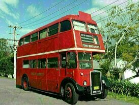 The Britstop - Big Red London Double Decker