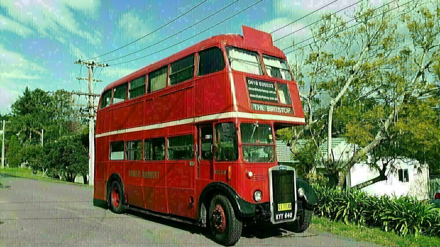 The Britstop - Big Red London Double Decker - Cover Image
