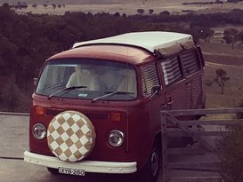 Trusty the Kombi - Cover Image