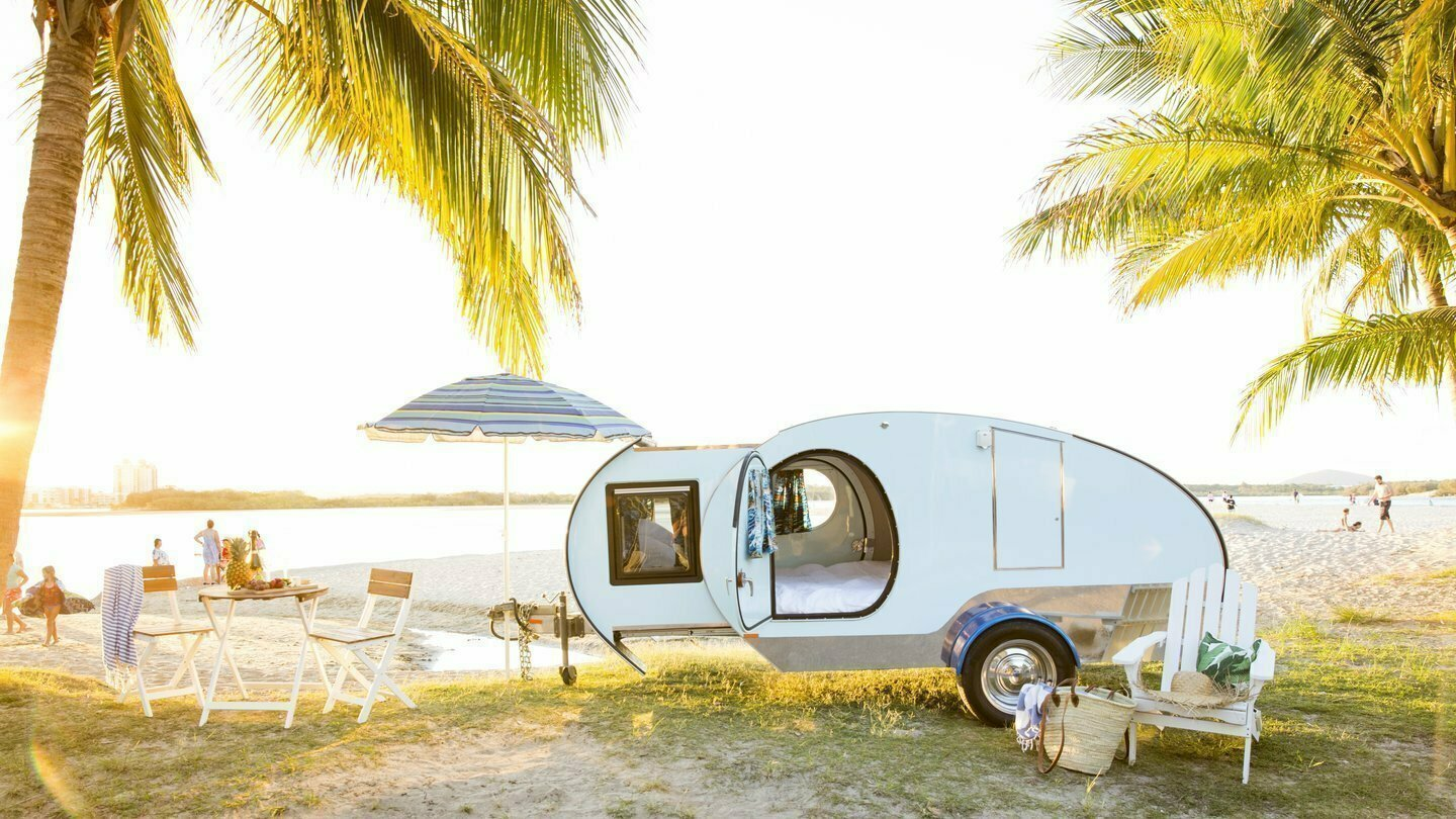 "Caravan for Hire in Buderim QLD from $90 0 ""Glamper Camper"