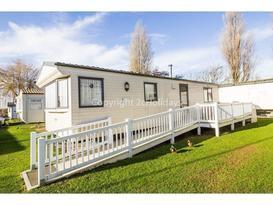 23006 Anmer area, 2 Bed, 6 Berth, C/H, D/G. Decking with Wheelchair access. Ruby rated.