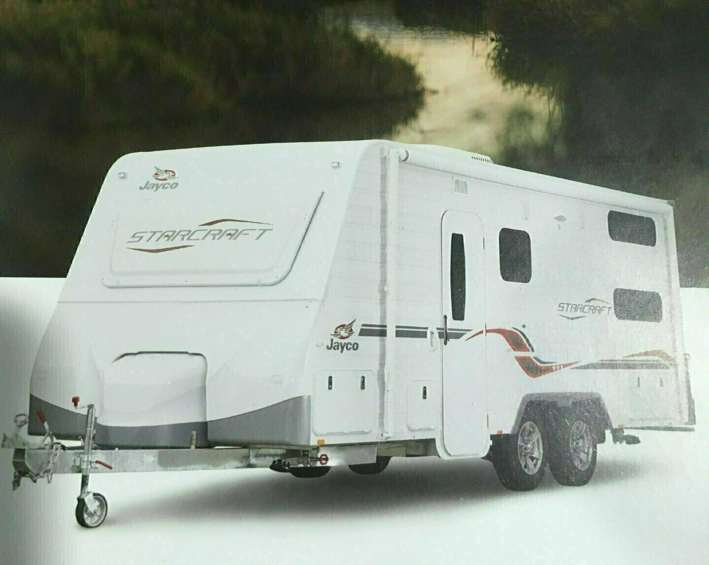 THE HOLIDAY MAKER 2017 Jayco Starcraft Fully Equipped  Bunk Family Van - Cover Image