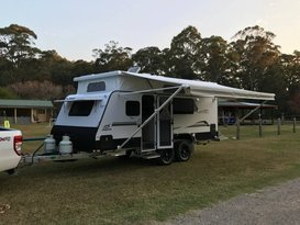 Napstar The Adventure Van - Double and Bunk Bed Family Jayco Starcraft