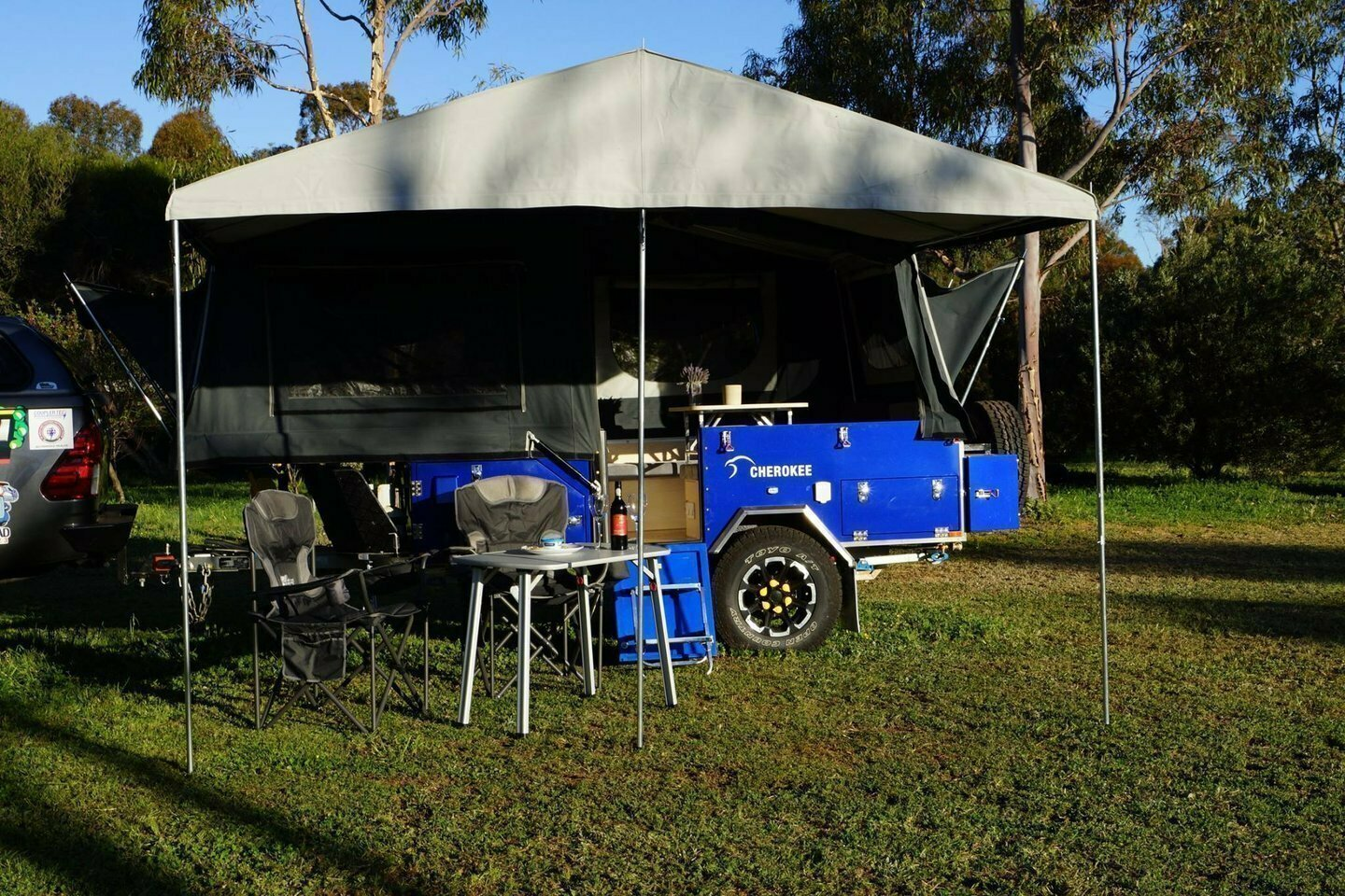 Eyre 4WD Camper Trailer Hire - Cover Image