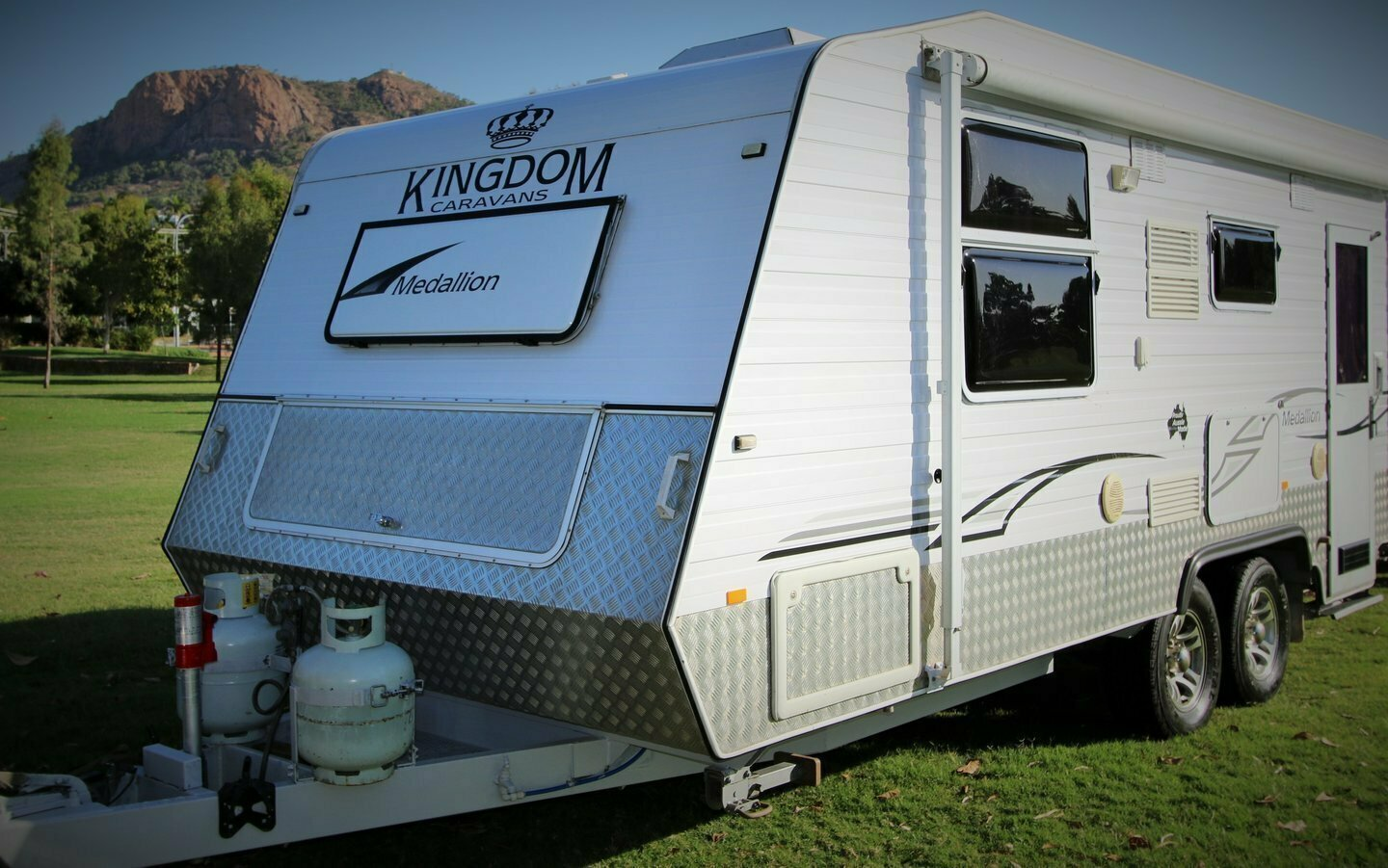 "NQ CARAVAN RENTALS  ""Kynan"" (formally great family van) - Cover Image"