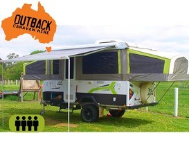 Jayco Swan Outback with AIR CON