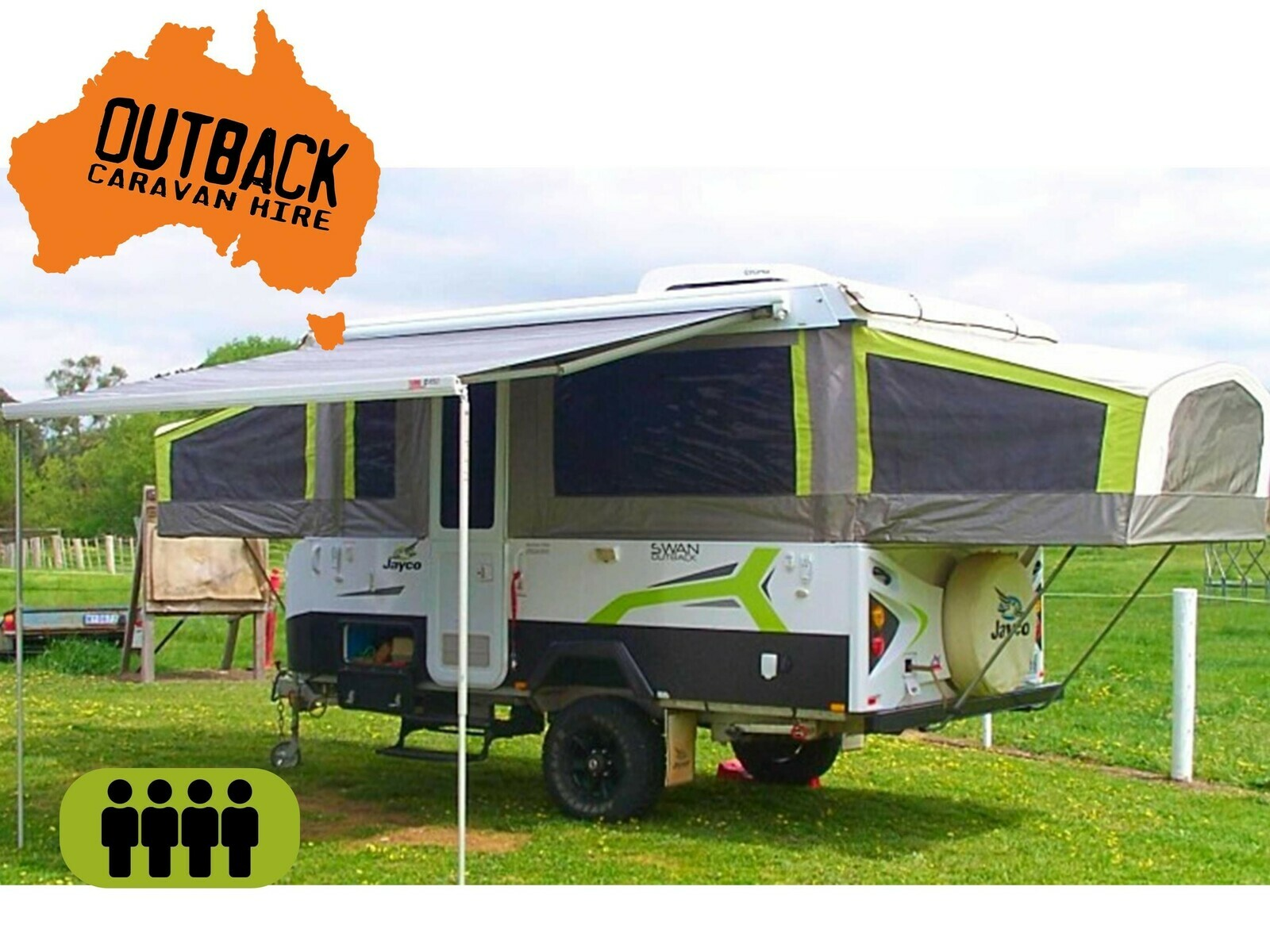 Jayco Swan Outback with AIR CON - Cover Image