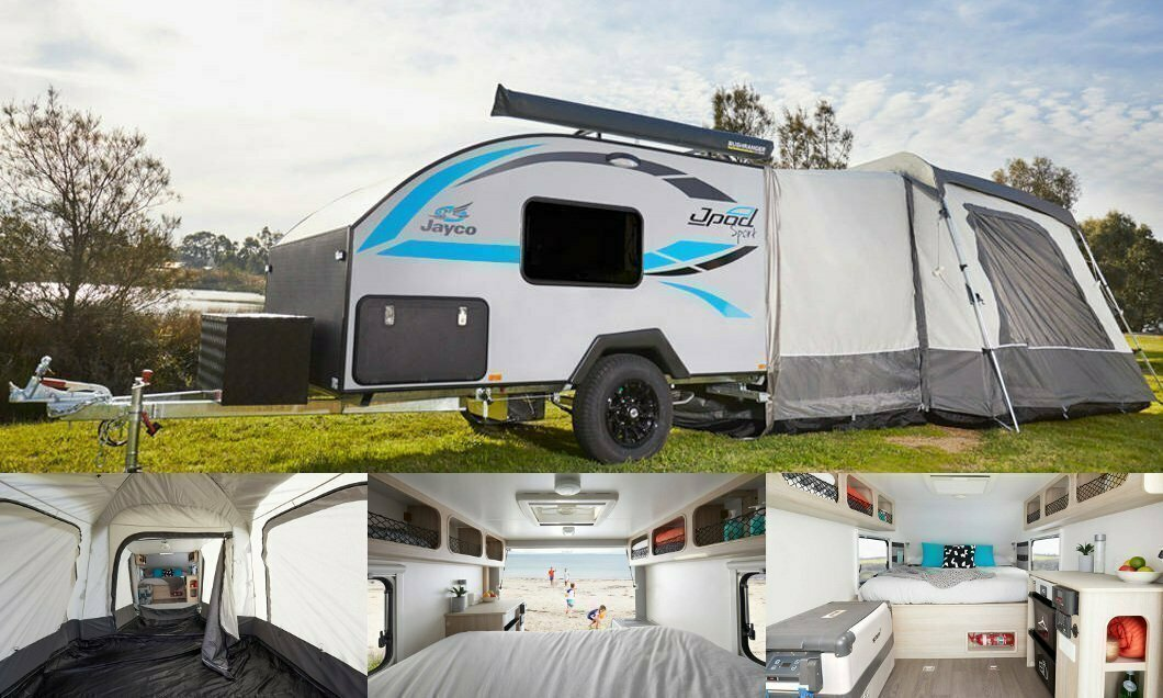 The ultimate light weight Jayco Jpod hire in Brisbane - Cover Image