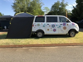 Suzie the Camping Van - Cover Image