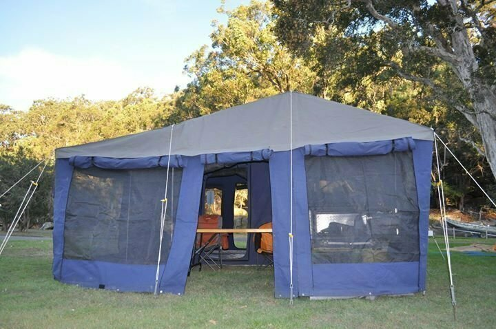 Aussie Made Lifestyle Extenda - Cover Image & Soft-floor Camper Trailer for Hire in Asquith NSW from $80.0 u201cAussie ...