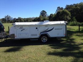 ByronCampers Jayco Eagle Camper for Hire - Cover Image