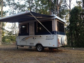 Light Weight Jayco Penguin For Hire Brisbane