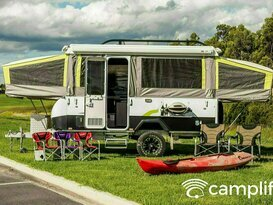 2017 Jayco Swan Outback with Solar