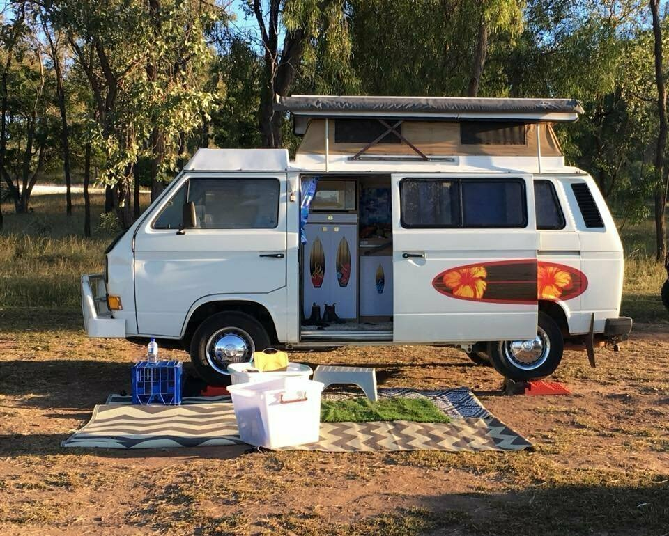 Crush the Kombi Camper - Cover Image
