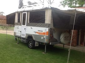 Outback escape. Jayco Swan.
