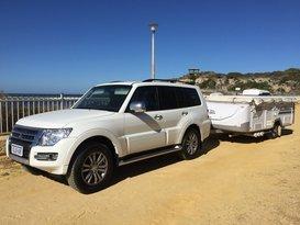 Vehicle and Camper Trailer Combo Hawk/Pajero