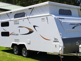 Journey in a Jayco - Cover Image