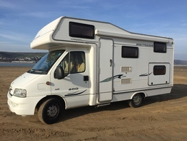 Explore beautiful west Wales in this 6 berth motorhome