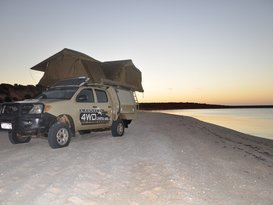 Toyota 4WD double camper (one way hire optional) - Cover Image