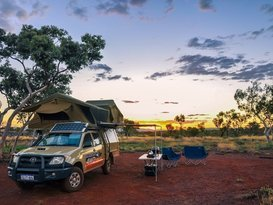 Toyota 4WD double camper (one way hire optional)
