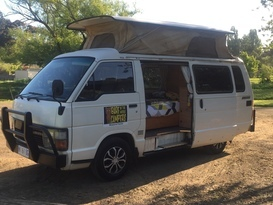 ..CALAMITY JANE - Bare in the woods camper - (automatic gearbox) 3 seater