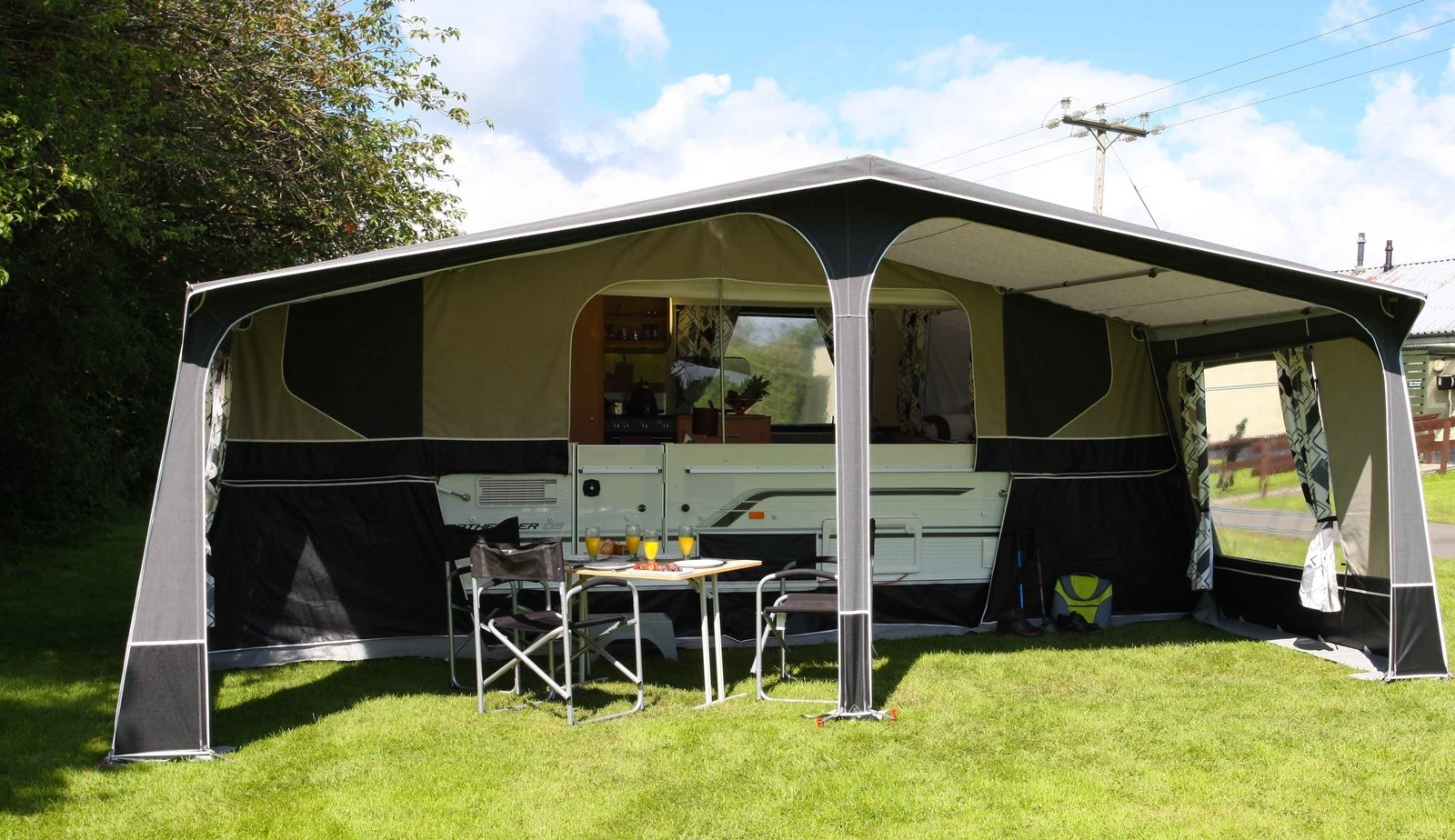 PENNINE PATHFINDER FOLDING CAMPER - Cover Image & Trailer Tent for Hire in Surrey from £25.0 u201cPENNINE PATHFINDER ...