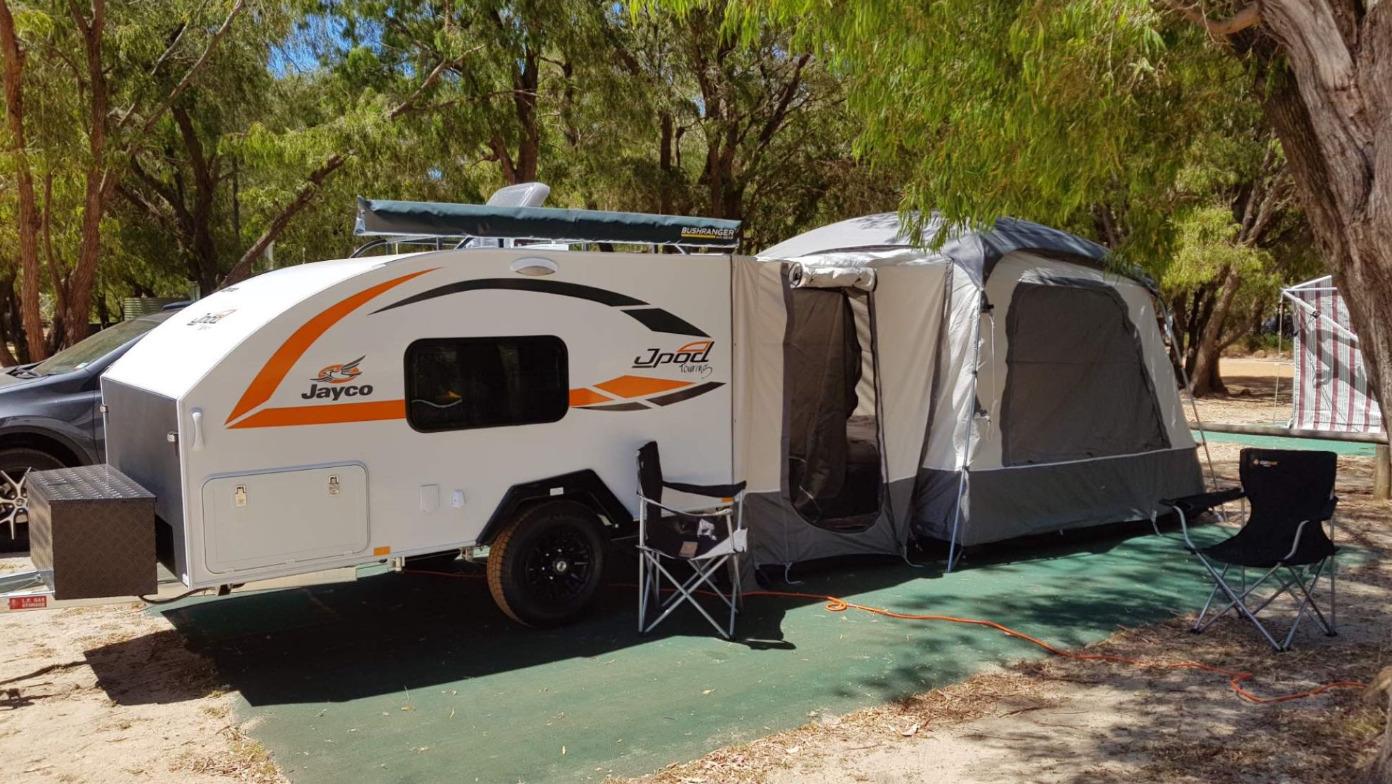 Caravan For Hire In Ellenbrook Wa From 90 0 Funky Campers Trailer