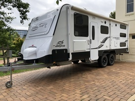 22ft Jayco Starcraft - the ultimate family van.