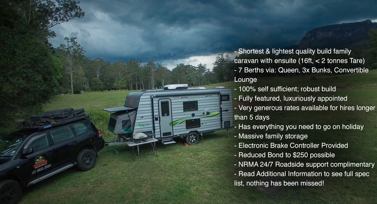 Off Grid Family Long Term Easy Towing Caravan - Cover Image
