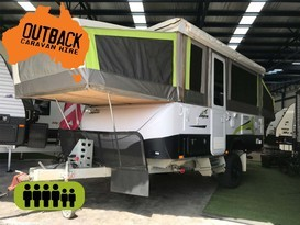 2017 Jayco Swan Outback with Aircon & Full Annex