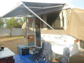 Jayco Finch, plenty of room and easy to tow