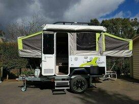Compact and Classy 2017 JAYCO Camper Caravan Poptop   Sleeps 4  (Outback model)