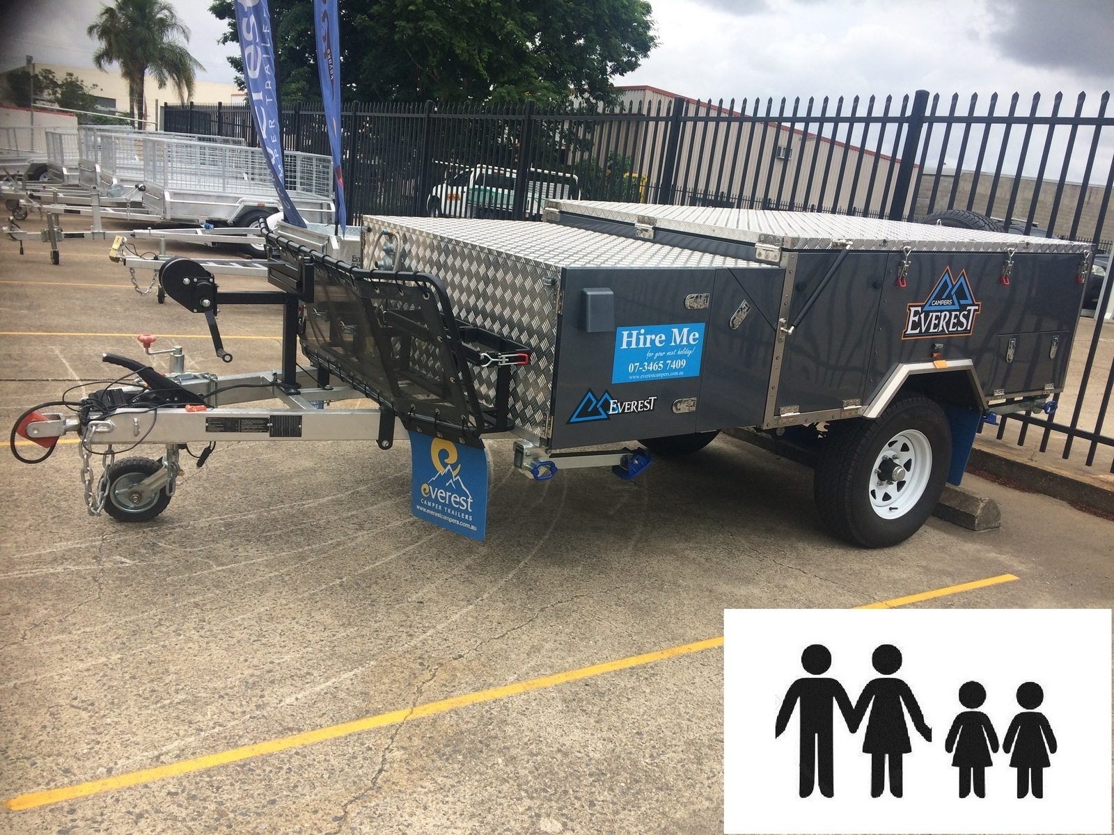 Hard Floor Camper Trailer For Hire In Brendale Qld From 80 0