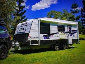 Atlantic caravan for hire