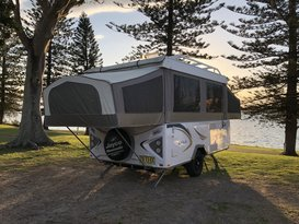 Jayco 'Wedgie' Eagle - Family sized & easy to tow!