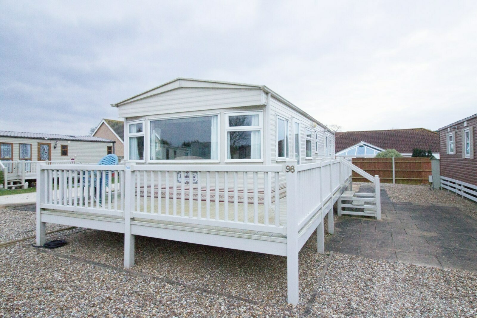 10098 Bure Village area, 2 Bed, 4 Berth. D/g & C/H Quiet area of park. Emerald rated. - Cover Image
