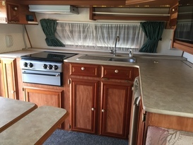 Awesome caravan for couple or family